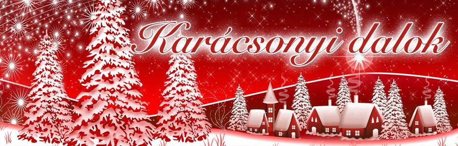 Karácsonyi dalok zenék